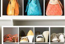 Dressings / Toute l'inspiration rangement pour vos vêtements et chaussures
