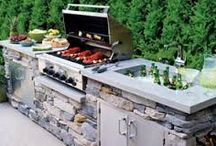 Incredible Outside Kitchens / Taking kitchen fun to the patio. / by Mr. Appliance Corp.