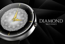 Diamond Watch Face / It's all about diamonds!