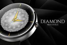Diamond Watch Face / It's all about diamonds!