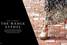 The Wedge Sandal / A casual, yet elevated silhouette.  / by ShoeDazzle
