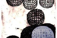 Abstraction -Black, white, neutrals