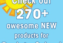 Back-to-School Time! / Back-to-School season is almost here and Carson-Dellosa can help! This board has tons of great ideas and cool products for creating fun bulletin boards, lesson planning, engaging activities, and more! / by Carson-Dellosa Publishing