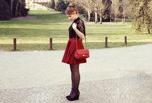 Mini Bag - I love her / Model e photography Beatrice Cadario. Blog: www.veryberrybee.com