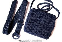 Macrame accessories / macrame bags, belts, or anything else ...