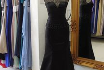 Evening dresses... / Some old, some new, but never borrowed and sometimes blue!