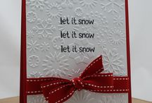 Christmas Cards / Simple Christmas card project ideas