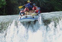 Avontuurlijke reizen / Zonsopkomst vanaf de top van een vulkaan, overnachten in de jungle, white water rafting, mountainbike-en door de bergen, overnachten bij een bergstam of snorkelen bij onbewoonde eilanden: Azië leent zich bij uitstek voor spannende en avontuurlijke reizen!