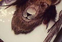 Витраж.львы / Витраж. Львы. Рисую на заказ . dolzhina@gmail.com