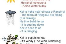 Preschool - let's learn Maori / Found these from https://m.facebook.com/letslearnmaori thought this will be good to share :)