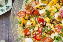 ensalada cares de quinoa