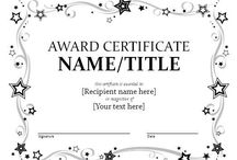 Award / Award template