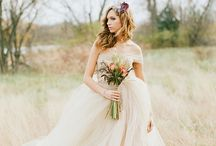Vintage Dresses / Capture that look and feeling of decades past in a vintage wedding dress / by WeddingDresses.com