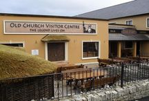 Old Church Visitor Centre / A New addition to our Hotel (March 2014).  A Visitor Centre full of interactive and multimedia exhibits for all the family to enjoy surrounding the mythical Tuatha De Danann Race and Grianan of Aileach.  Look forward to having you visit in 2014.