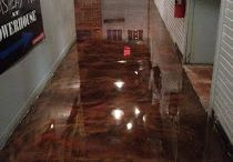 Painted/stained concrete floors