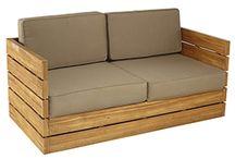 Muebles en teca