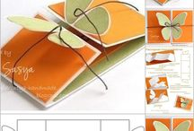 Greeting and jewelry cards, gift boxes