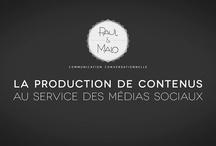 VIDEOS / L'agence P&M réalise tout type de vidéos pour servir le contenu diffusé sur la toile