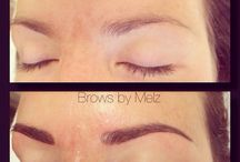 Brows by Melz / Eyebrows* cosmetic* tattoo* before And after*