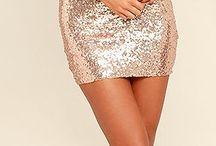Shining dresses