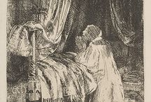 Rembrandt Drawings & Etchings