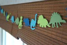 dinosaur birthday theme