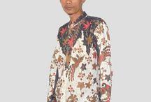 Kemeja Batik Koko Slimfit H1146