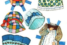 Gingham Series Paper Dolls / Images from this Genre