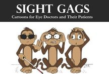 Niche cartoons. / Cartoons for those niche industries such as opticians, doctors and farmers.