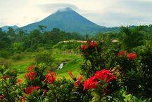 Lugares turísticos en Costa Rica