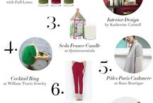 Gift Guide / Holiday Gift Guide 2013 & other gift ideas