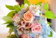 Wedding flowers / Pastel roses