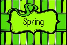 Spring / For spring teaching resources, check out: https://www.teacherspayteachers.com/Store/Jen-Rece