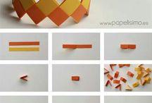 papírból