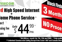 Black Friday Sale Zone -CIk Telecom / Grab the deals on Internet Plans on  Black Friday Week just at $44 .Also Home Service free with no contract, no processing fee.