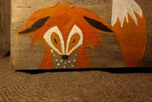 Handpainted wooden boxes, treasure box, jewerly holder / Every jewelry collection should be prized and stored carefully to prevent natural tarnishing and damage over time. Your pieces deserve love and care. Our wooden boxes are decorated with our original designs. We stained the wooden box (interior and exterior), sanded, hand painted and decorated it with acrylic paint.  It makes a great gift as a jewellery box or treasure box.