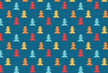 Christmas vector patterns / http://graphicmedic.com/