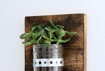 Jar Planters