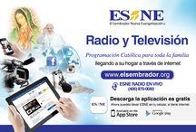 Sintoniza  ESNE| RADIO Y TV / No te pierdas la programación Católica de ESNE | RADIO Y TV  en tu país y en cualquier parte del mundo a través de la APP ESNE o internet www.elsembrador.org