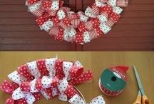 bows and crafts for holidays / by Kristi Sampson