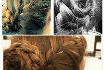 Hairstyles / Hairstyles done by me