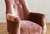 Armchairs, sofas