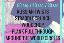 Ab Workouts / A collection of ab workouts that target the core / by Peanut Butter Fingers
