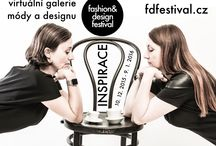 Fashion&Design Festival n. 5 a jeho vystavovatelé / virtuální galerie módy a designu - téma expozice INSPIRACE