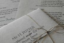 Letters and Stationary