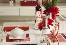 紅白 red and white