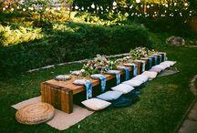 Hochzeit im Freien