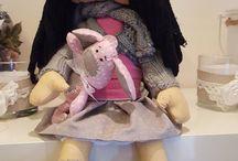 Handmade Doll / handmade doll  http://prokesmarketa.blogspot.cz/