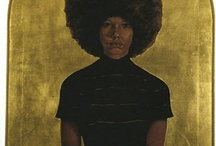 Barkley L. Hendricks / A contemporary artist painter who has work pioneering contributions to black portraiture and conceptualism.