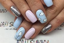 Gender Reveal/ Baby Nails